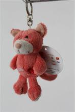 Plush pop eye animal keychains