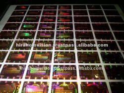 Dot matrix Hologram Products