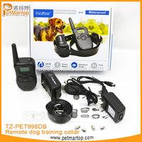 2014 hot sell pet accessory TZ-PET998DB electronic dog training collars