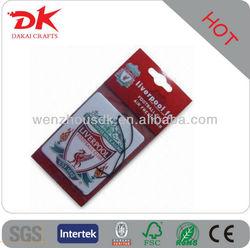 Custom high quality Car Air Freshener/Hanging air freshener for car/paper air freshener