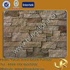 Yellow sandstone natural stone decoration fireplace