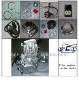 125cc engine motorcycle engine assembly 4 stroke engine