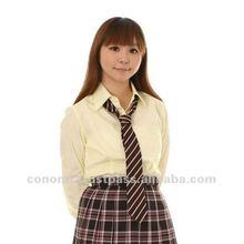 school uniform shirt 5 colors variation 2012.