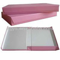 Creative Hot Pink Foldable Paper Gift Box