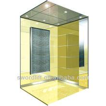 SWORD brand Metal net decoration passenger usage elevator lift with CE CUTR for sale