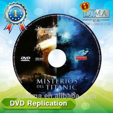oem bulk printing blank copy dvd