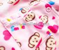 impreso pijama de micro paño grueso y suave polar