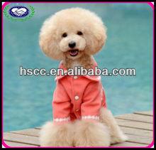 Red Wool fabric Winter Dog Coat China Designer Dog Clothes Fashion