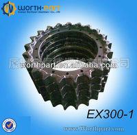 Hitachi Excavator EX300-1 Sprocket/Segment,Hitachi Undercarriage