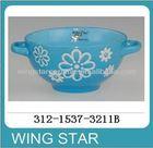 312-1537-3211B antique brass bowls china