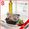 Plastic Tray for supermarket/plastic food tray for meat/ plastic container