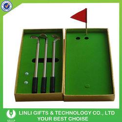 Mini Golf Pen Set For Golf Club