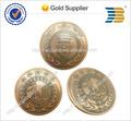 Vieilles pièces de monnaie en argent personnalisé logo gravé pièces.