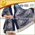 Abrigo de seda del mantón de la Virgen turco Jacquard