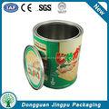 comestível lata vazia de alimentos fabricados na china