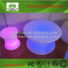 Night club LED furniture adapter bar table