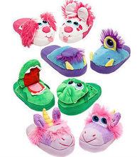 hot sale plush animal sheep slippers bedroom use