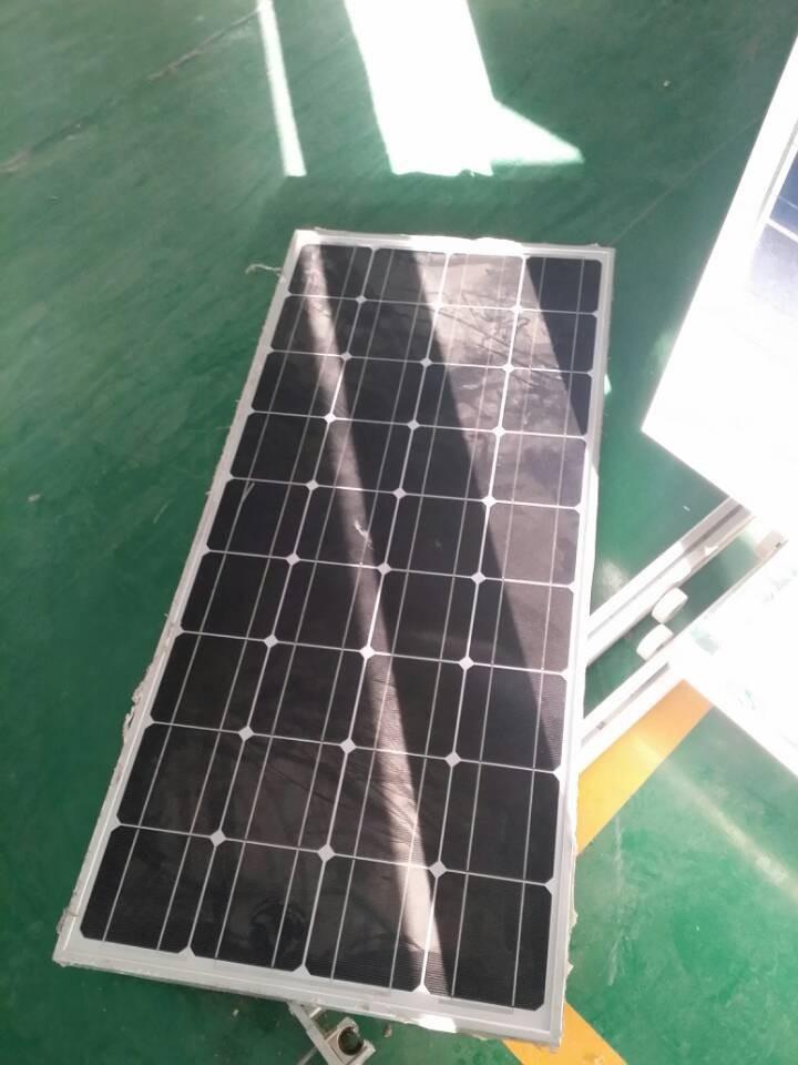 ร้อนขายราคาต่อวัตต์130wแผงเซลล์แสงอาทิตย์