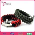 Costume jewelry handmade 550 paracord survival bracelet Christmas gift paracord bracelet