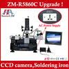 Chip coincide clear bga repair system ZM-R5860C bga rework station reballing machine clear bga align