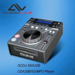 SCDJ-350 USB Professional single DJ CD/ USB/SD card / MP3 PLAYER