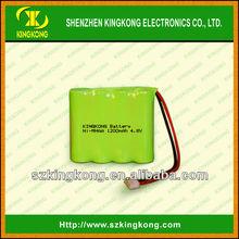 Ni-Mh 4.8v 1200mah AA battery pack