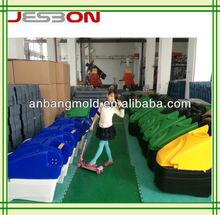 rotational plastic scrubber machine mould OEM