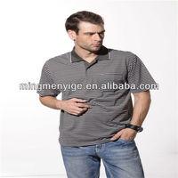 fashion style Wholesale 100% cotton yarn dyed leisure men's t clothing