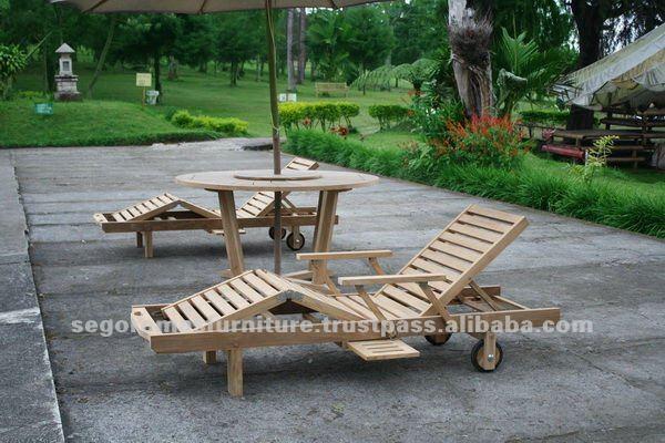 indonesia modern outdoor furniture teak wooden sun lounger buy sun