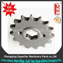 made in china cd70 motorcycle sprocket,NXR125 BROS ES 17T sprocket,forging 1045 steel best price motorcycle