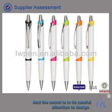funky plastic ball pen