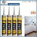 Adesivo de madeira piso, selante acrílico, resina pintura de emulsão