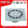 CE certification 100*100MM zinc alloy chrome plated shower floor drain cover 6107-A