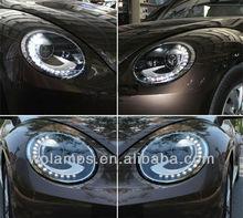 Aftermarket Volkswagen Beetle Projector Headlights 2012-2014