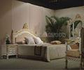 Talla de madera muebles del dormitorio para la venta sc-t8926