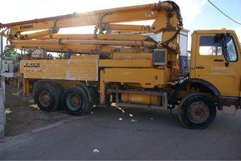 Truck Mounted Concrete Beton Pump Schwing 32m