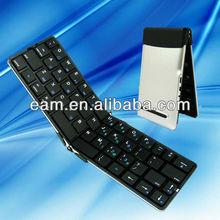 Ultrathin chocolate foldable bluetooth keyboard