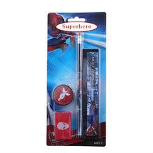 Student set Carmen Superhero Rubber Pencil Pencil sharpener and Line