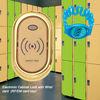 Waterproof RF school locker lock with master key