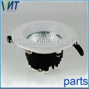 VMT white painting led bulb housing parts led aluminium die casting for ceiling lamp