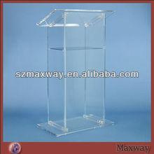 Plexiglass acrylic tabletop lectern/podium/pulpit