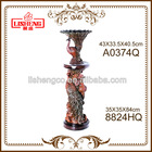 home floor decorative resin flower vase pillar A0374Q+8824HQ