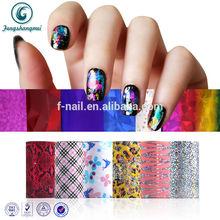 2014 nail foil transfer foil adhesive