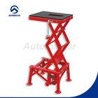 Portable Scissor Lift, Hydraulic MX Stand, 300lb Lift