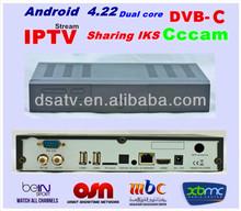 HD IPTV mini x1 mini x6 mini x2/3/4/5 HD OSN showtime MBC dongle receiver satellite dvb-c cccam android dvb C tv box