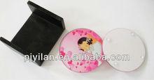 new design lovely pink girl wedding favors glass coaster