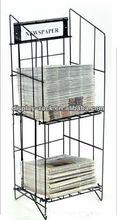 newspaper rack shelf HSX-S826 office furniture newspaper magazine rack
