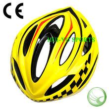 Yellow Bike Helmet, in-mold helmet, yellow scooter helmet