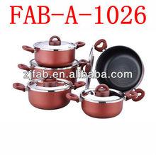 Wholesale Aluminum 12pcs Non-stick Saucepot
