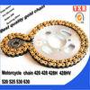 hot sale mini moto spare parts,chain sprocket go kart sprocket,transmission kit cvt motorcycle transmission